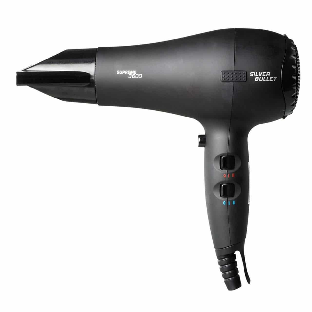 Silver Bullet Supreme 3600 Hair Dryer Black