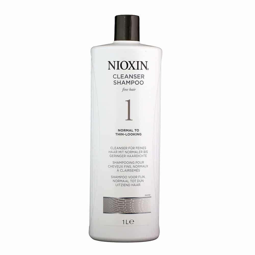 Nioxin System 1 Cleanser 1 Litre The Beauty Lounge
