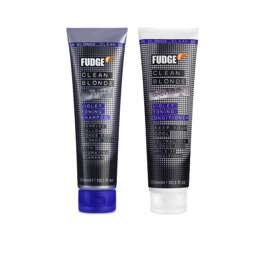 Fudge Clean Blonde Violet Purple Shampoo The Beauty Lounge