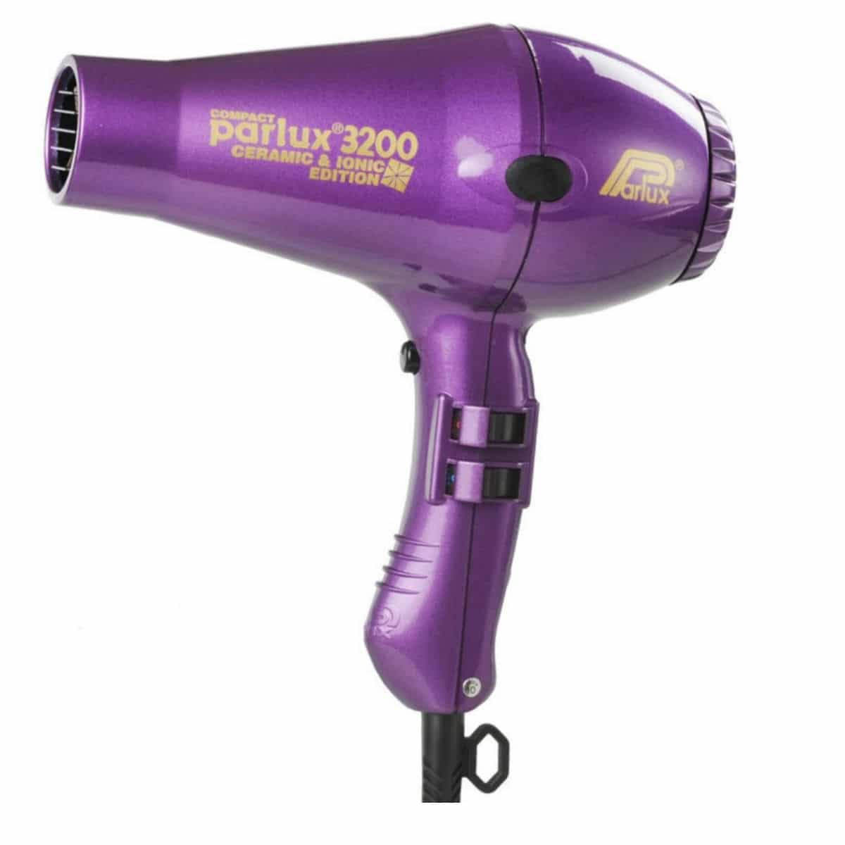 Ionic Hair Dryer ~ Parlux ceramic ionic hair dryer purple the beauty