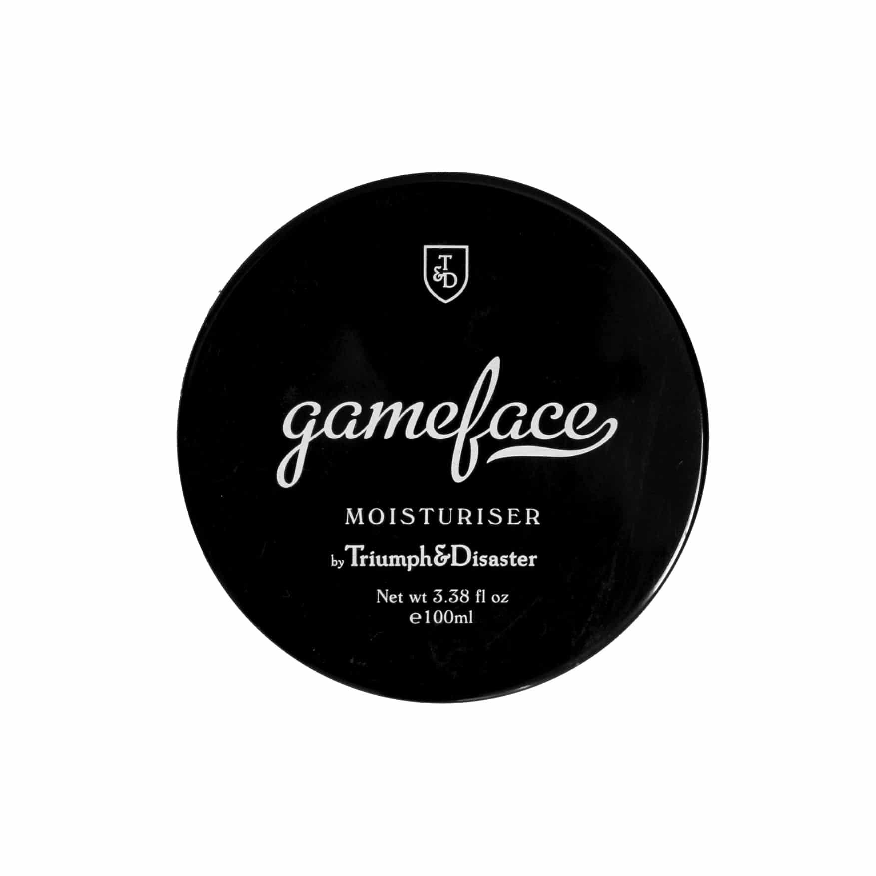 Gameface Moisturiser Jar
